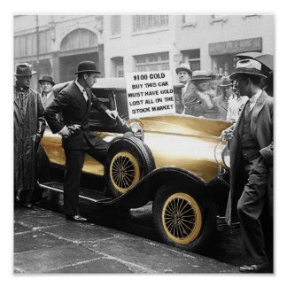 The Gold Depression Car Poster
