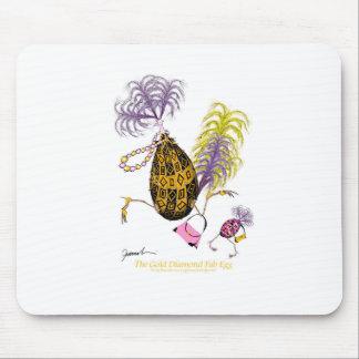 The Gold Diamond Fab Egg, tony fernandes Mouse Pad