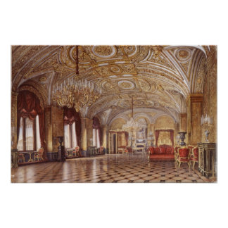 The Gold Drawing-Room Print