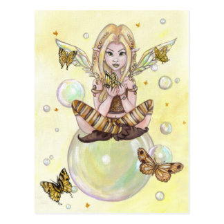 """The Gold Fairy"" postcard"