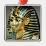 The gold funerary mask, from tomb of Tutankhamun Metal Ornament