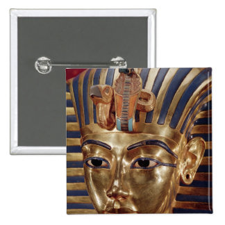 The gold mask, from the Treasure of Pinback Button