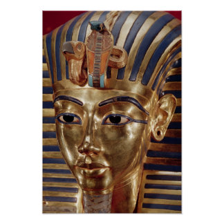 The gold mask, from the Treasure of Poster