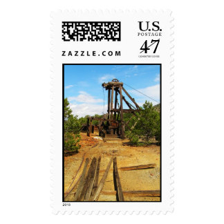 The gold mine stamp