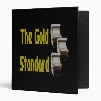 The gold standard arcade binder