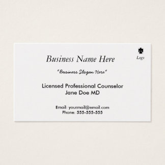 The Gold Standard Business Card