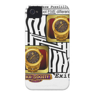 The Gold Watch VIP Maze iPhone 4 Covers