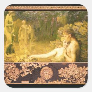 The Golden Age, 1897-98 Square Sticker