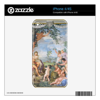 The Golden Age (fresco) iPhone 4S Skins