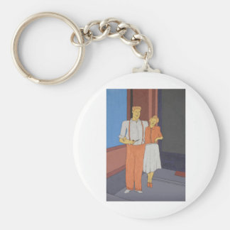 The Golden Age Of Bliss Keychain