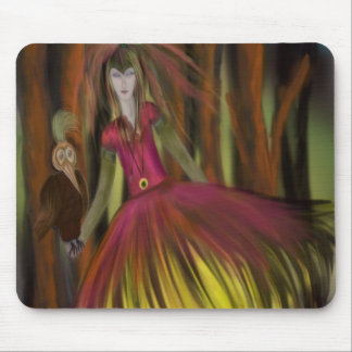 The Golden Bird Mouse Pad