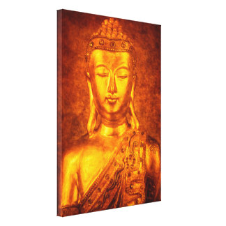 The Golden Buddha Canvas Print