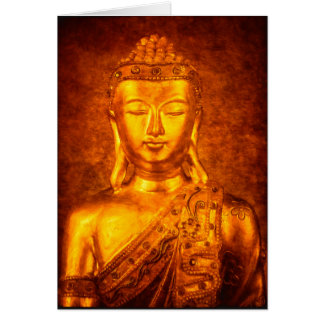 The Golden Buddha Card