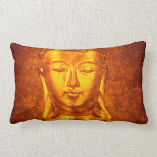 The Golden Buddha Lumbar Pillow