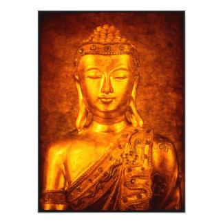 The Golden Buddha Photo Print