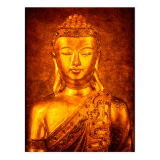 The Golden Buddha Postcard