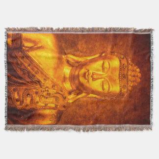 The Golden Buddha Throw