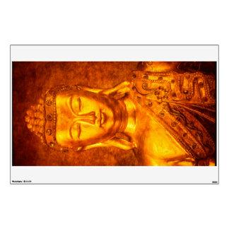 The Golden Buddha Wall Sticker