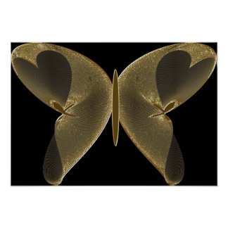 The Golden Butterfly Poster