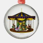 The Golden Carousel Christmas Ornament