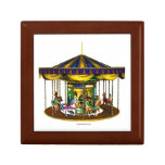 The Golden Carousel Jewelry Boxes