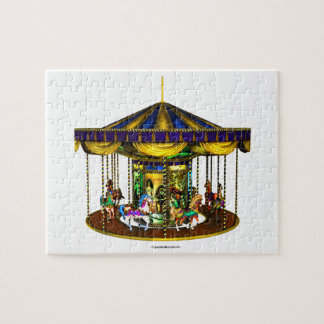 The Golden Carousel Jigsaw Puzzle