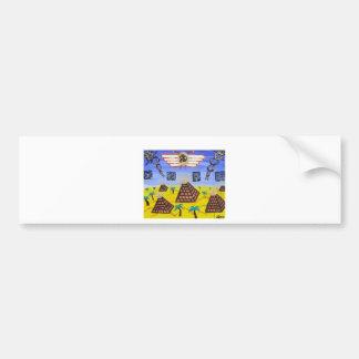 The Golden Disk Bumper Sticker