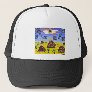 The Golden Disk Trucker Hat