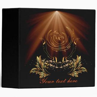 The golden dragon sign binder