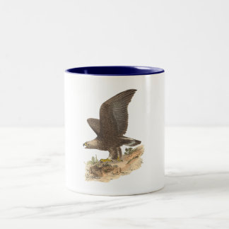 The Golden Eagle(Aquila chrysaetos) Two-Tone Coffee Mug