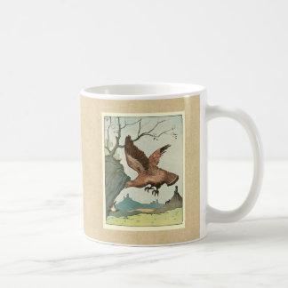 The Golden Eagle Story Book Illustration Coffee Mug