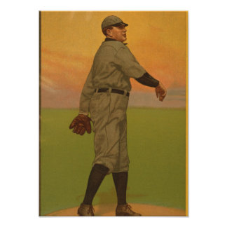 The Golden Era of Baseball - Great Pitcher Series Poster