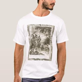 The Golden Fleece Won by Jason (engraving) T-Shirt