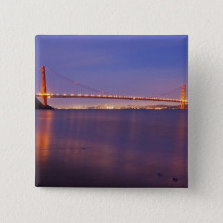 The Golden Gate Bridge at dusk from Kirby Cove Button