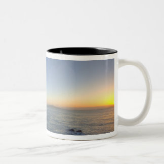 The Golden Gate Bridge at sunrise from Fort Two-Tone Coffee Mug