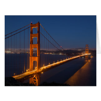 The Golden Gate Bridge Card