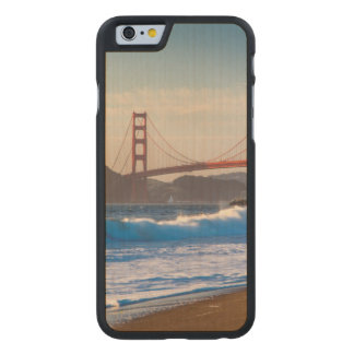 The Golden Gate Bridge From Baker Beach Carved Maple iPhone 6 Case
