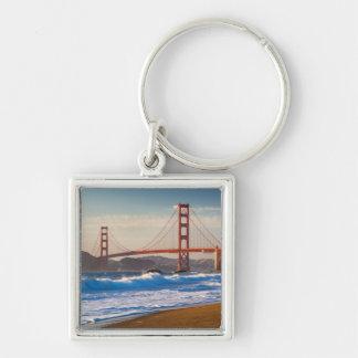 The Golden Gate Bridge From Baker Beach Keychain