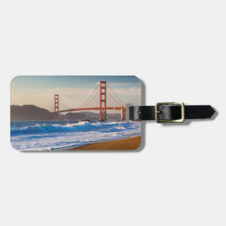 The Golden Gate Bridge From Baker Beach Luggage Tag