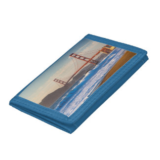 The Golden Gate Bridge From Baker Beach Tri-fold Wallets