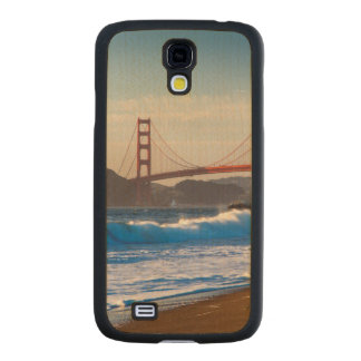 The Golden Gate Bridge From Baker Beach Carved® Maple Galaxy S4 Slim Case