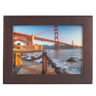 The Golden Gate Bridge From Fort Point Memory Box
