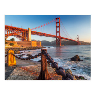 The Golden Gate Bridge From Fort Point Postcard