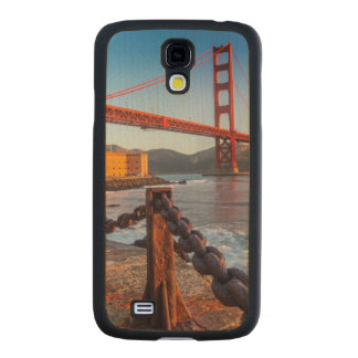The Golden Gate Bridge From Fort Point Carved® Maple Galaxy S4 Slim Case