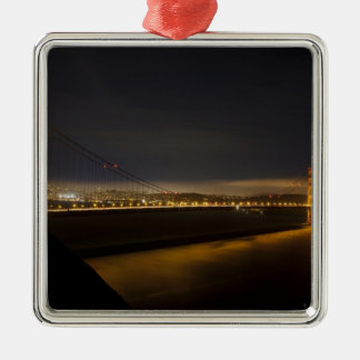 The Golden Gate Bridge from the Marin 2 Metal Ornament