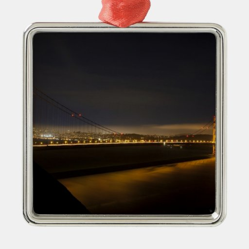 The Golden Gate Bridge from the Marin 2 Ornaments