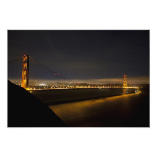 The Golden Gate Bridge from the Marin 2 Photograph