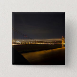 The Golden Gate Bridge from the Marin 2 Pinback Button