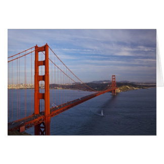 The Golden Gate Bridge from the Marin Card