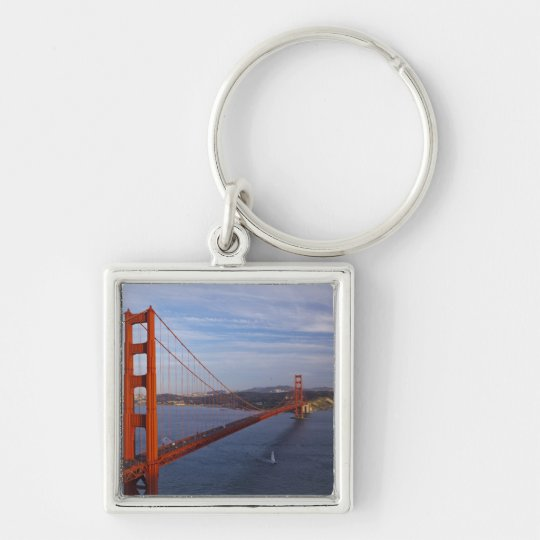The Golden Gate Bridge from the Marin Keychain